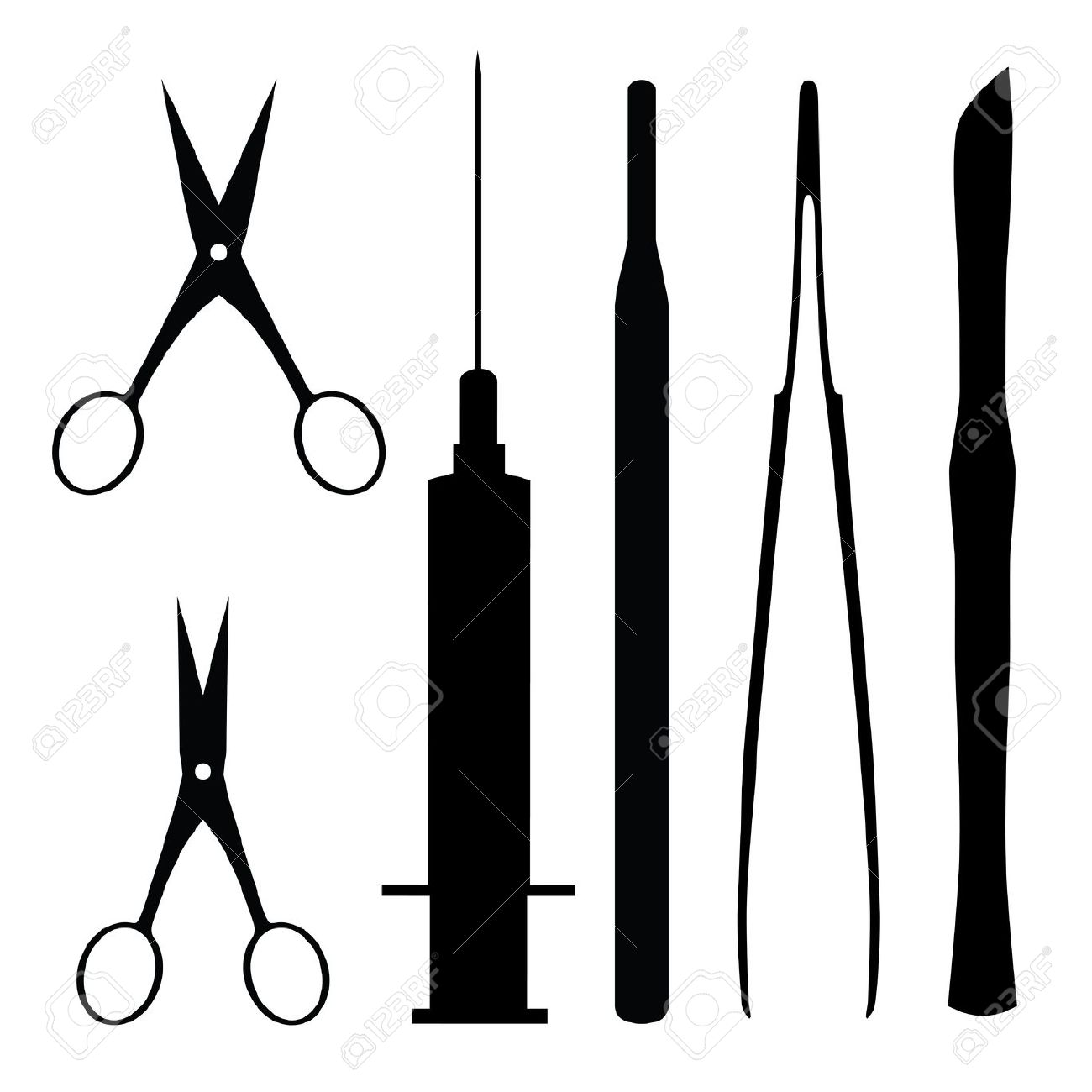 1300x1300 Syringe Clipart Surgery