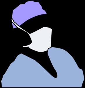 291x300 Cap Clipart Surgeon