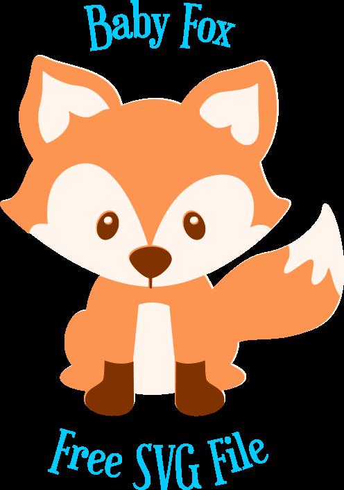 496x706 Baby Fox Svg Cut File Freebie Friday