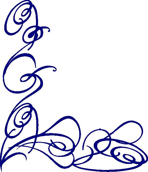 510x592 Fancy Border Clip Art Swirl Free Clipart Images 3 Image