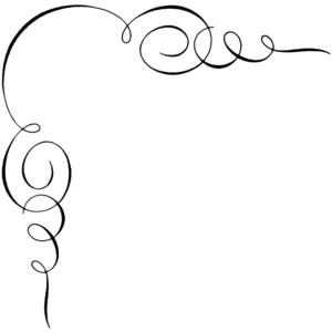 300x300 Swirl Border Clip Art