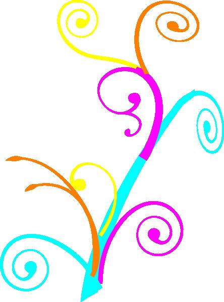 444x599 Bex Swirl Clip Art