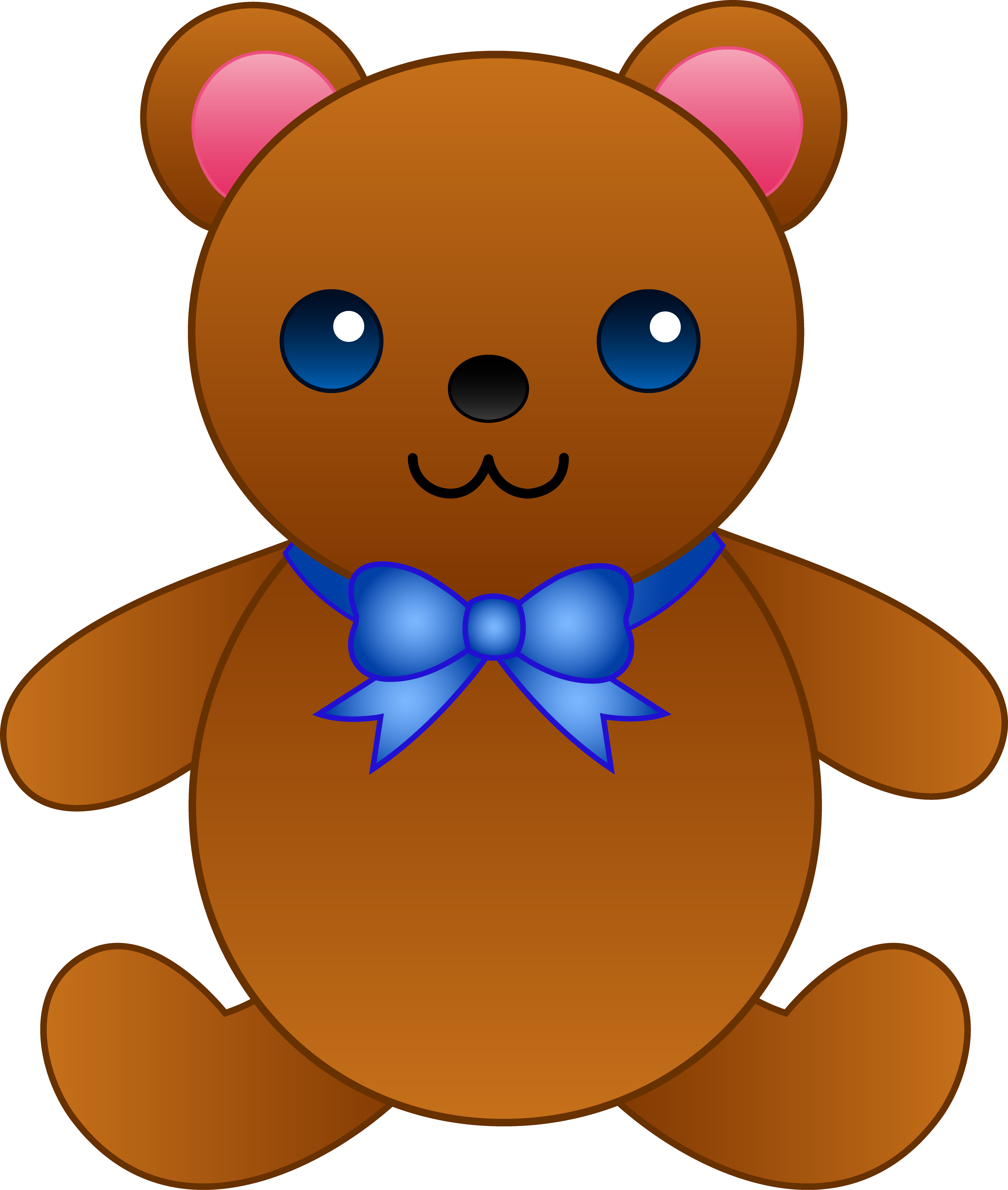 3881x4581 Pink teddy bear clipart free images 3