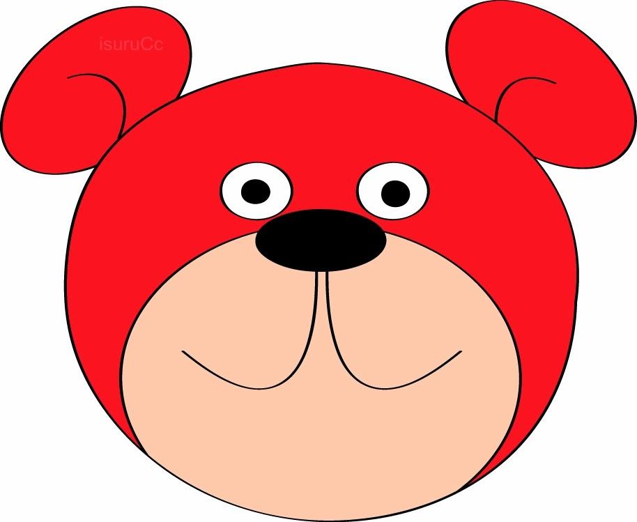 914x749 Teddy Bear clipart red