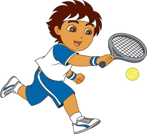 472x430 Free Tennis Clipart Pictures
