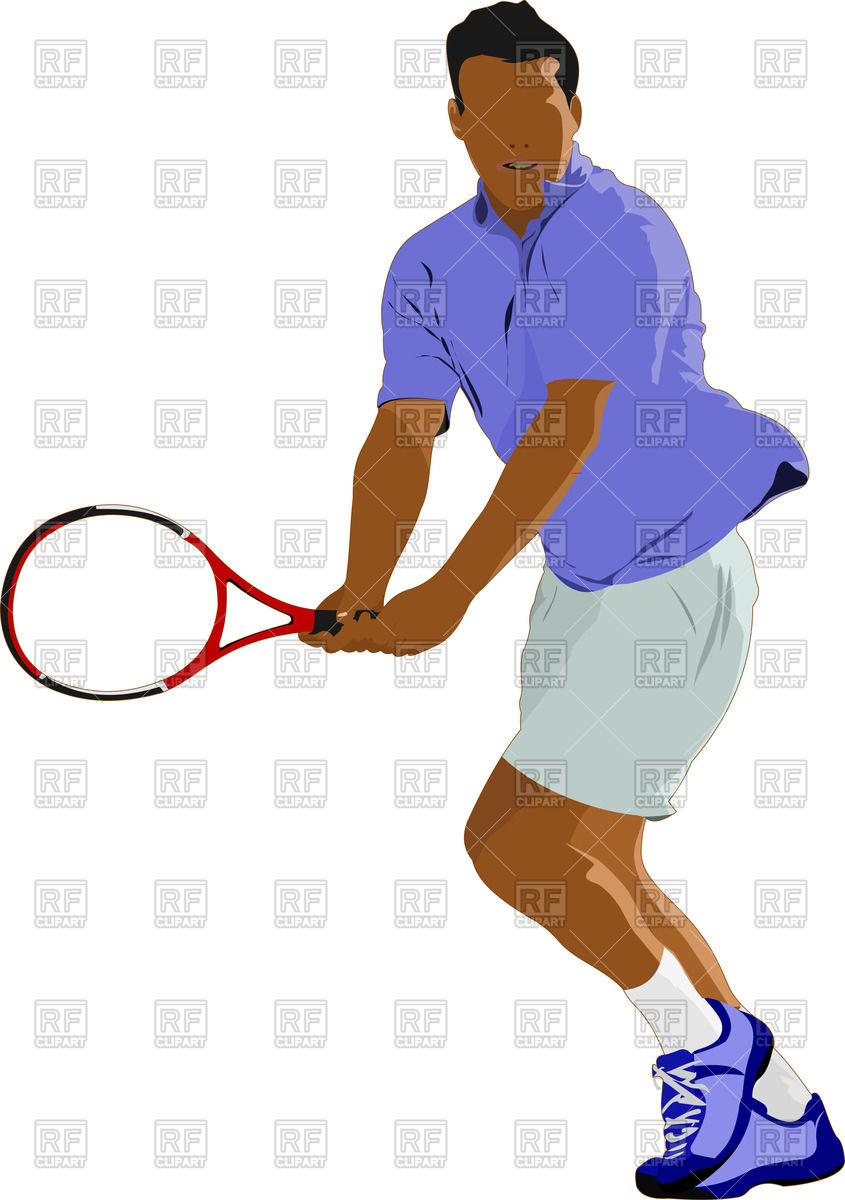 845x1200 Man With Racket