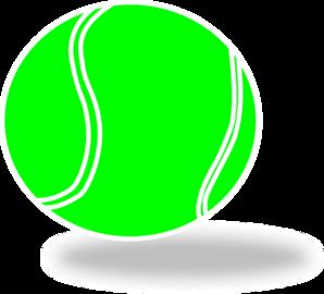 298x270 Tennis Ball Clip Art