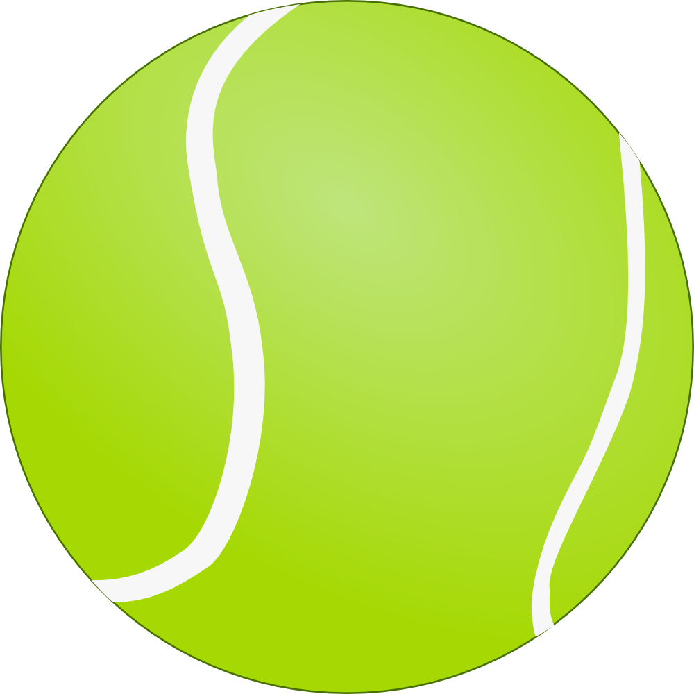 1000x1000 Bouncing Tennis Ball Clipart Free Images