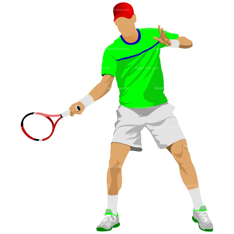 800x800 Free Tennis Clipart Image