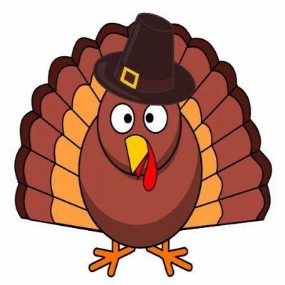 400x400 Free Thanksgiving Clip Art Turkey Clipart