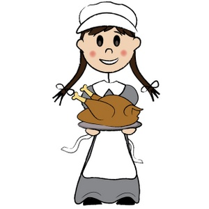 300x300 Thanksgiving Clipart Image