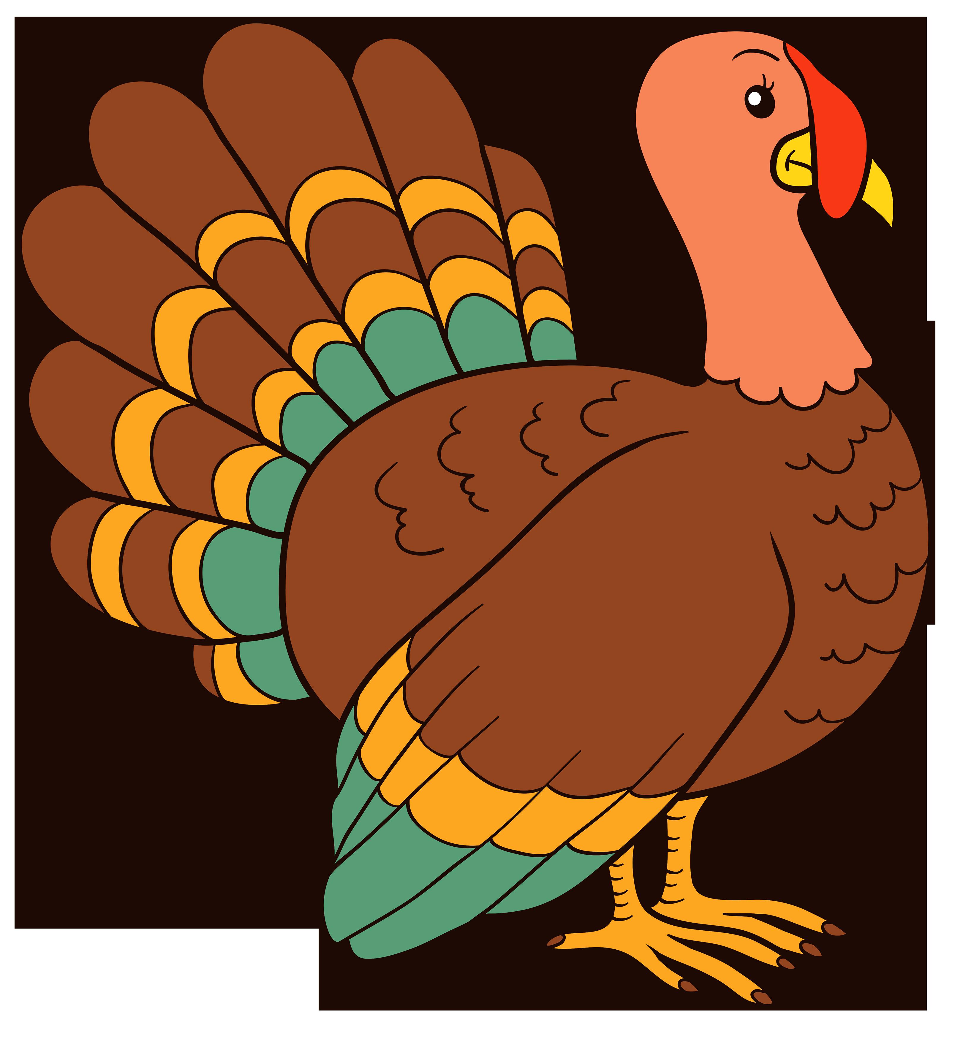 3243x3500 Top 85 Turkey Clip Art