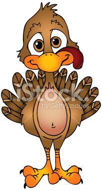 204x380 Free Turkey Clip Art