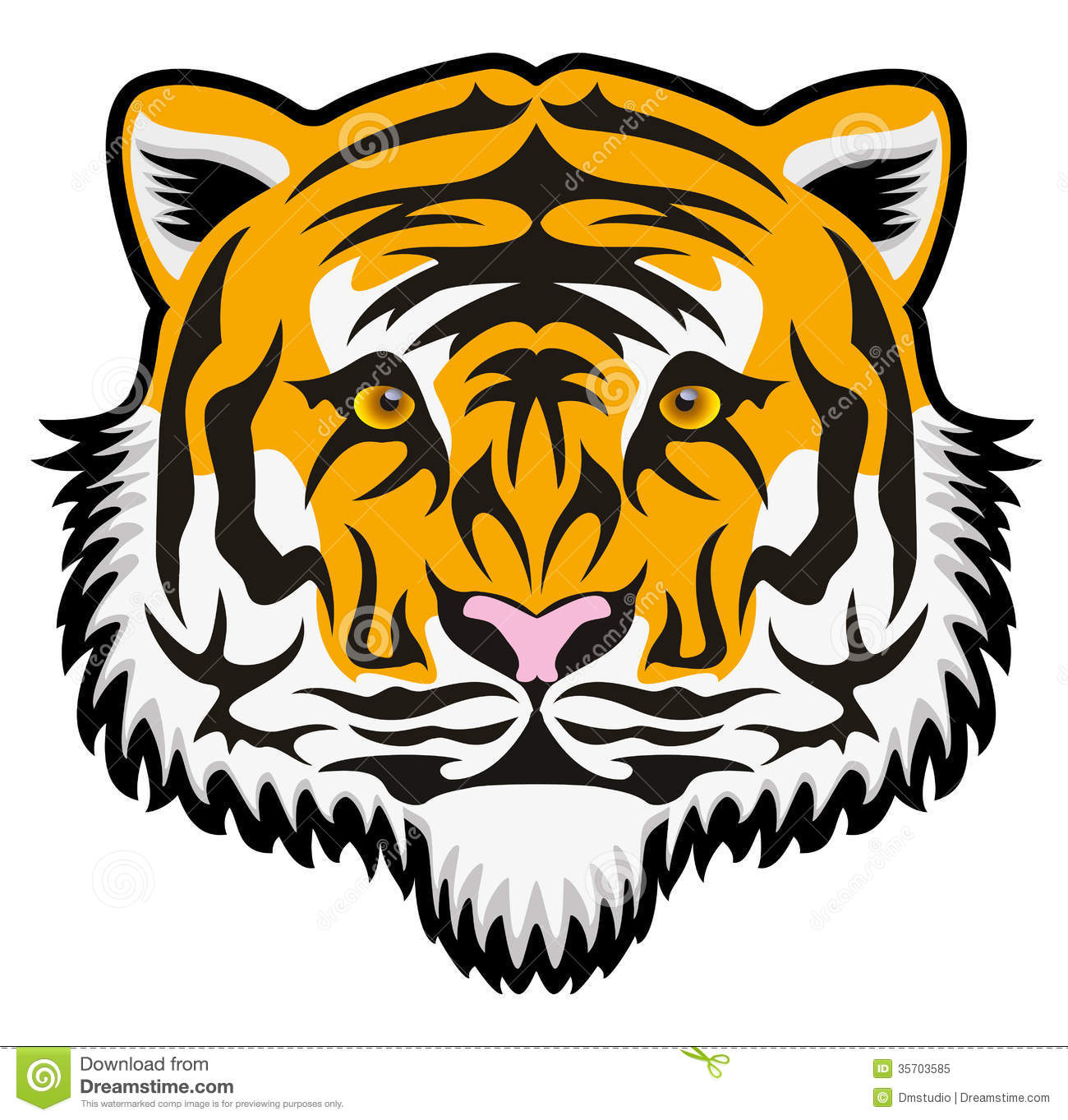 1300x1363 Bengal Clipart Tiger Outline