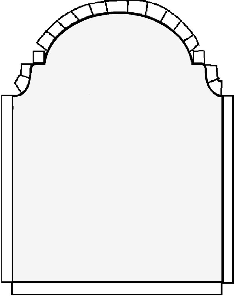 812x1024 Tombstone Template Pdf Clipart