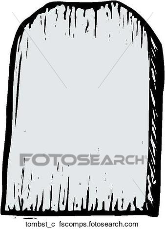 338x470 Clipart Of Tombstone Tombst C