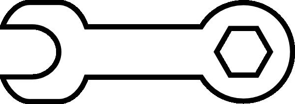600x211 Tool White Clip Art