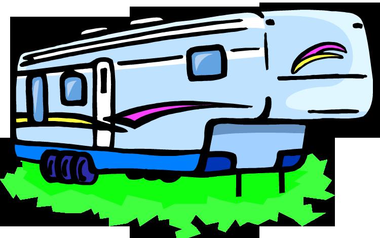 750x470 Rv Travel Cartoon Clipart
