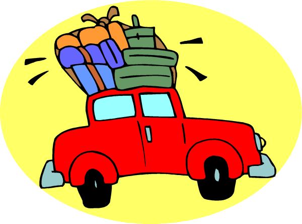 600x444 Free Car Travel Clipart Image