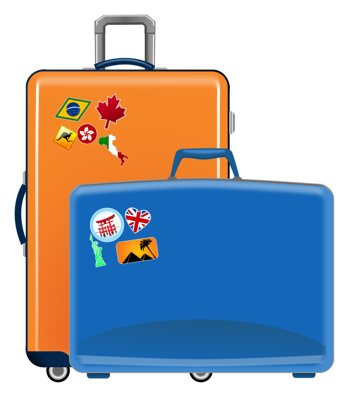 702x800 Free Travel Clipart Image
