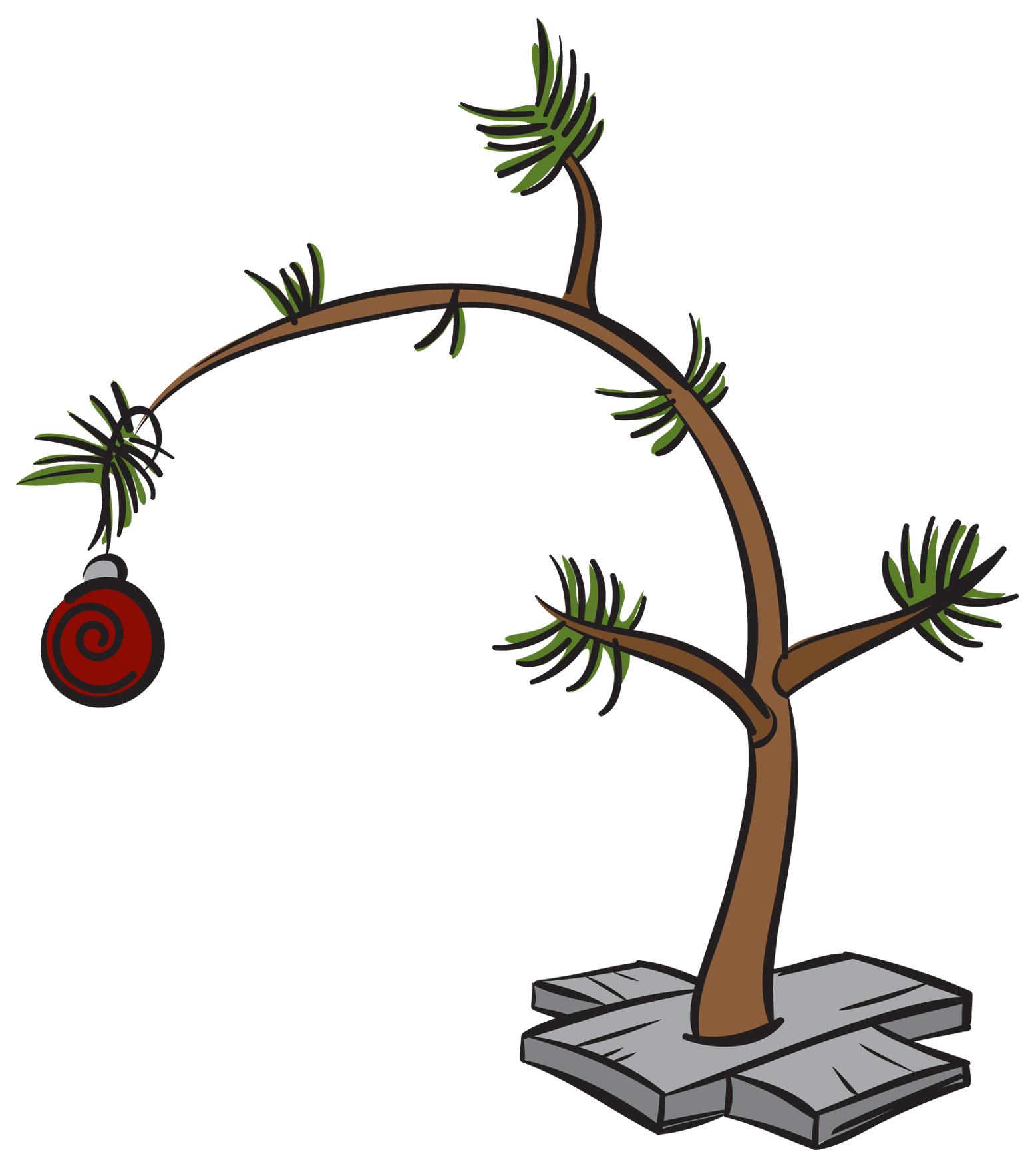 1557x1754 Clip Art Charlie Brown Christmas Tree Free 11