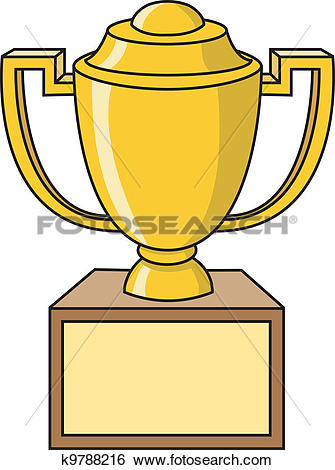 335x470 Number 1 Trophy Clipart