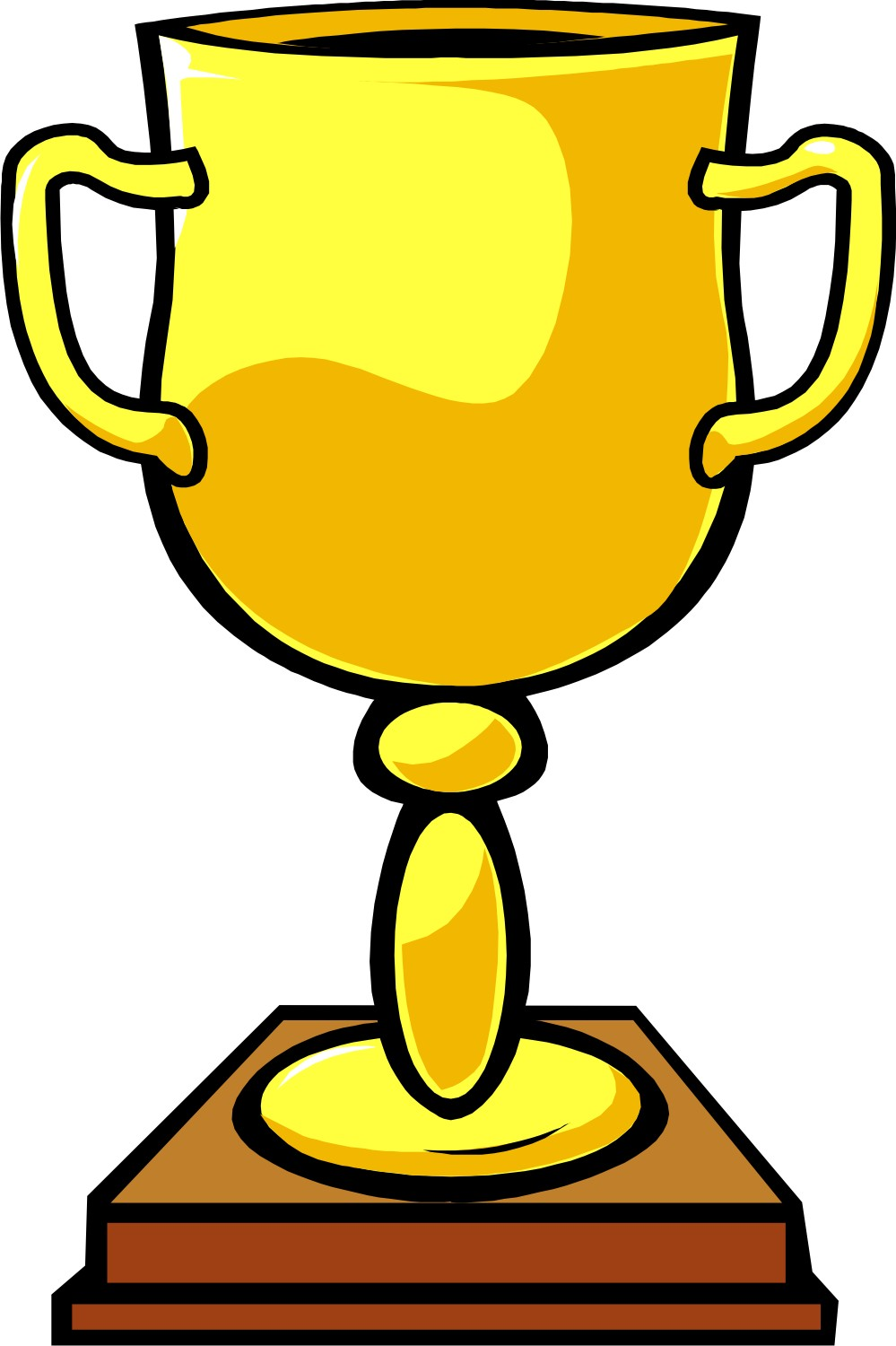 999x1500 Trophy Clip Art Free Free Clipart Images 2