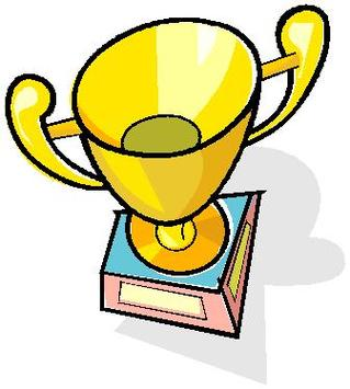 319x355 Free Trophy Clipart Picture