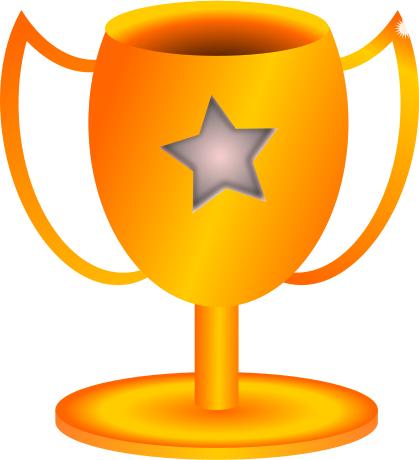 419x460 Trophy Clip Art Free Clipart Winner