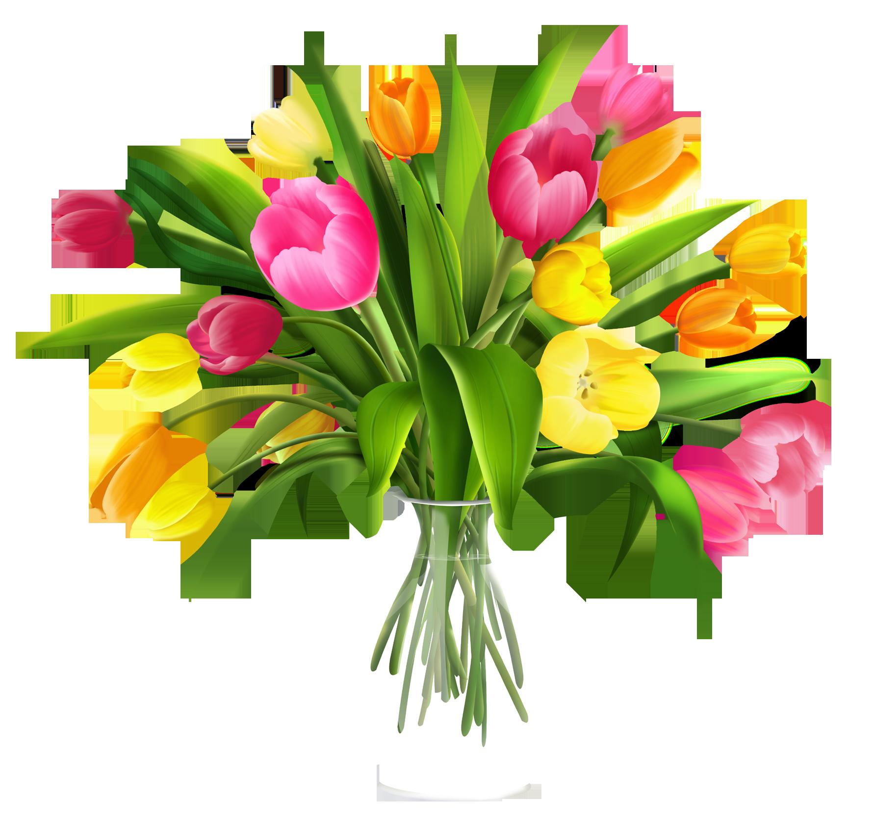 1780x1681 Bouquet Clipart Tulip Bouquet