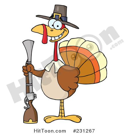 450x470 Thanksgiving Turkey Clipart