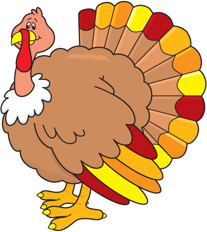 404x454 Turkey Clip Art To Color Free Clipart Images