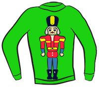 Ugly christmas sweater gingerbread man. Free clipart download best
