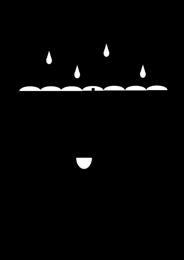 637x900 Umbrella Black And White Umbrella Clipart Black And White Clipa