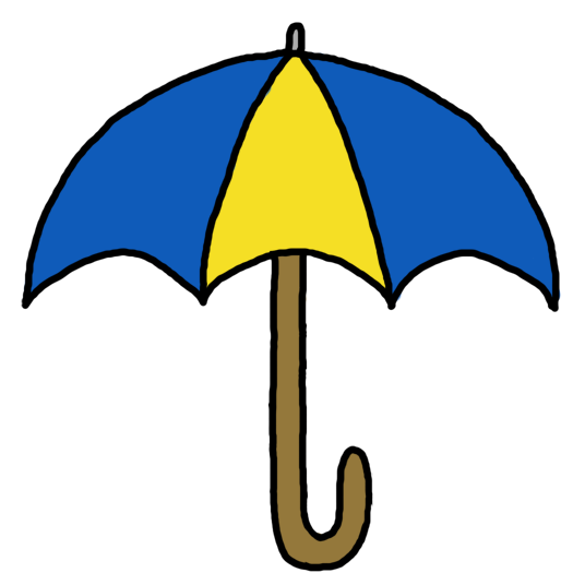 536x536 Closed Umbrella Clipart Free Clipart Images