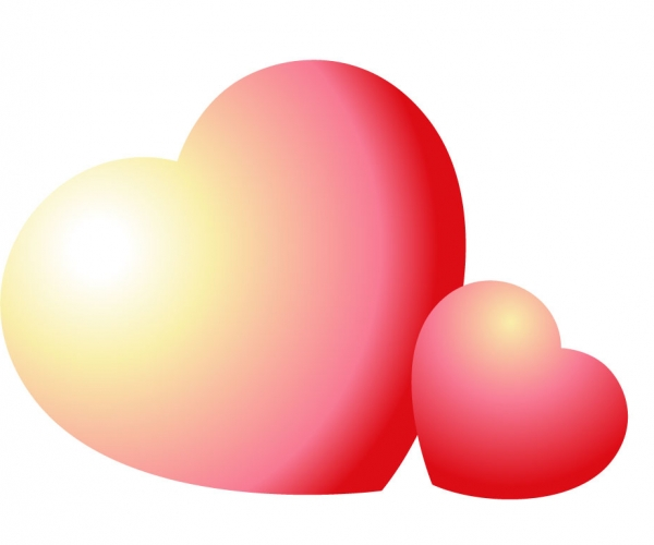 600x500 Snazzy Hearts Valentines Day Heart Clip Art Valentines Day Heart