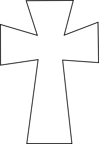 414x599 Crosses Clip Art Cross Vector