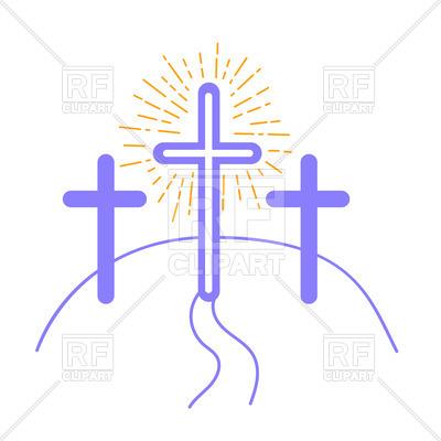 400x400 Crucifixion