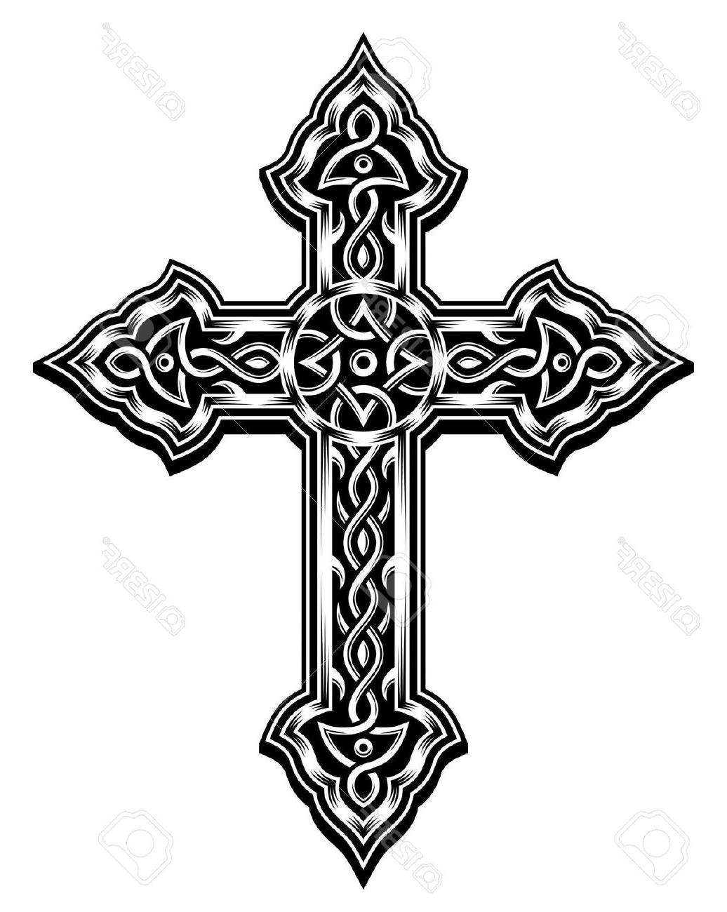 1036x1300 Best Free Ornate Cross Vector Design Free Vector Art, Images
