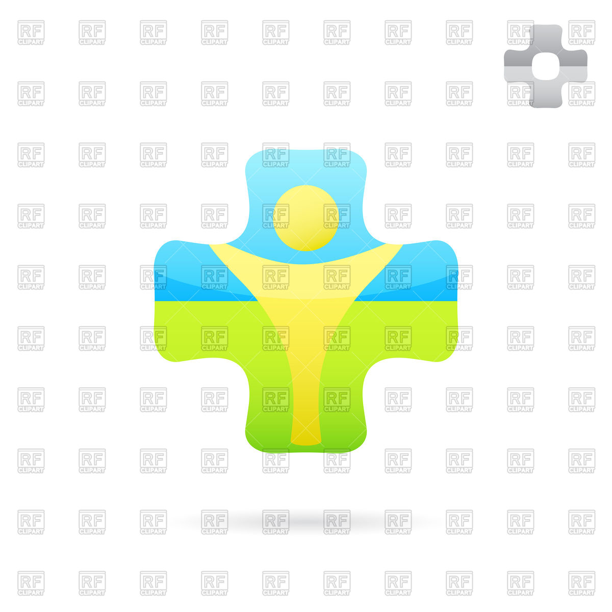 1200x1200 Medical Cross Logo Royalty Free Vector Clip Art Image
