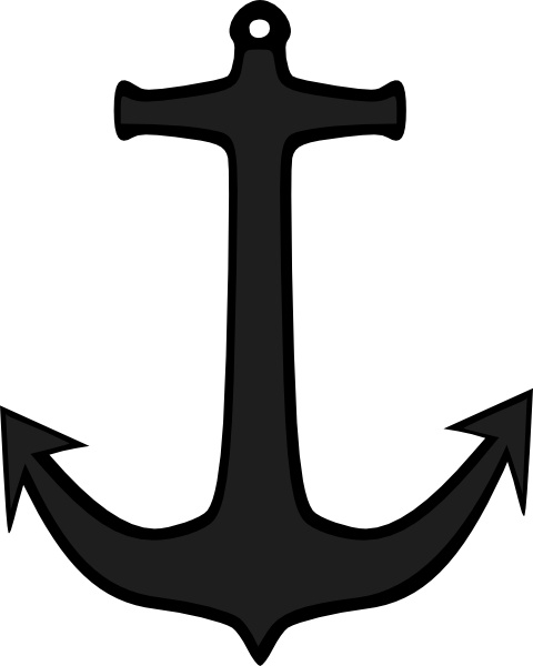 480x600 Simple Anchor Clip Art Free Vector In Open Office Drawing Svg