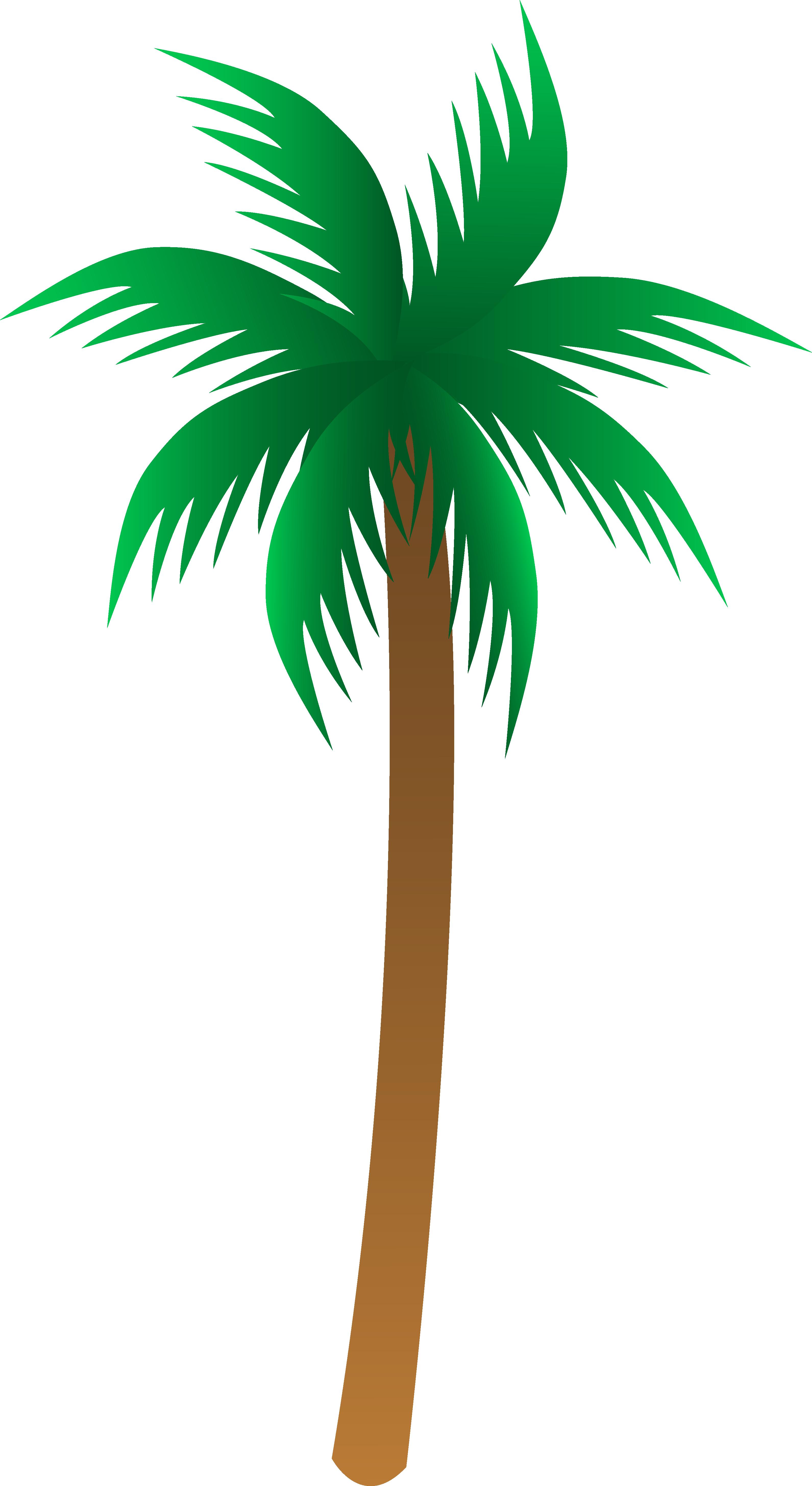 3182x5819 Vector Palm Tree Clip Art Trees Clipart Mylocalguide Site