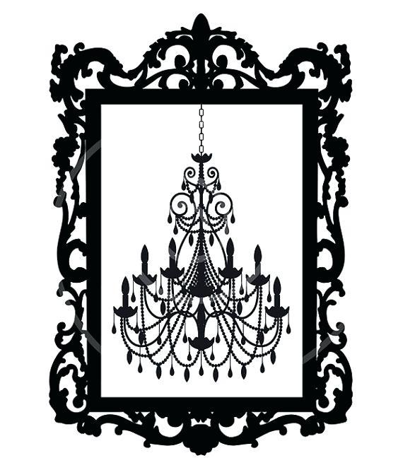 570x665 Free White Chandelier Clip Art Vintage Chandelier In Antique
