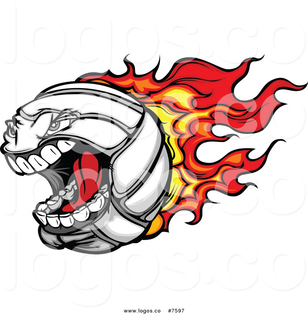 1024x1044 Royalty Free Clip Art Vector Logo Of A Screaming Flaming