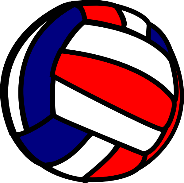 600x596 Volleyball Clip Art