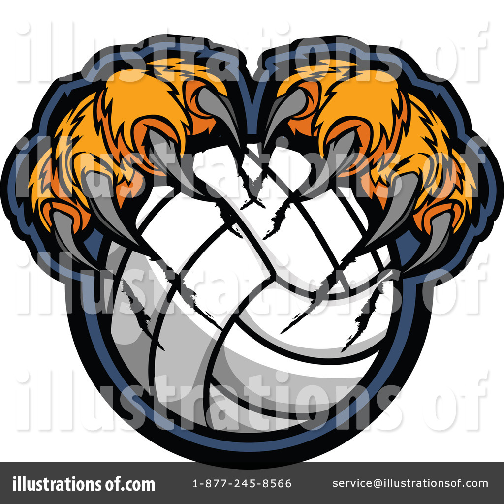 1024x1024 Volleyball Clipart