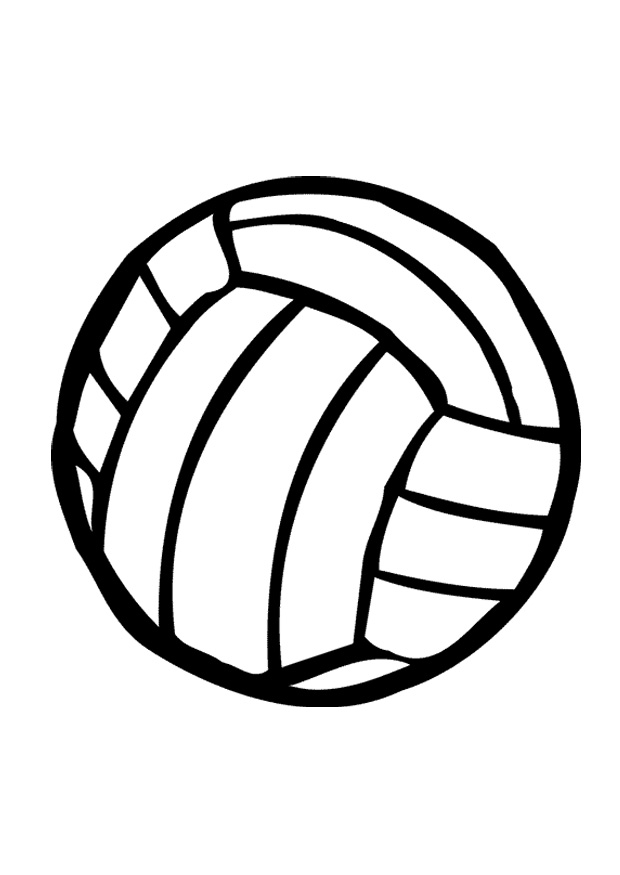 620x875 Cartoon Volleyball Clipart Free Download Clip Art