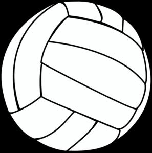 297x299 Volleyball Thin Clip Art
