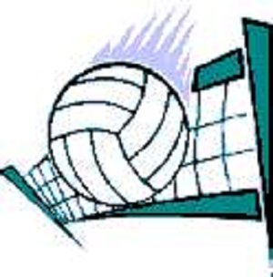 300x304 Free Volleyball Clipart Free Volleyball Related