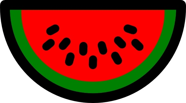 600x334 Watermelon Icon Clip Art Free Vector In Open Office Drawing Svg